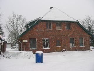 ...es sind schon ein paar Winter durch den Bau gegangen.